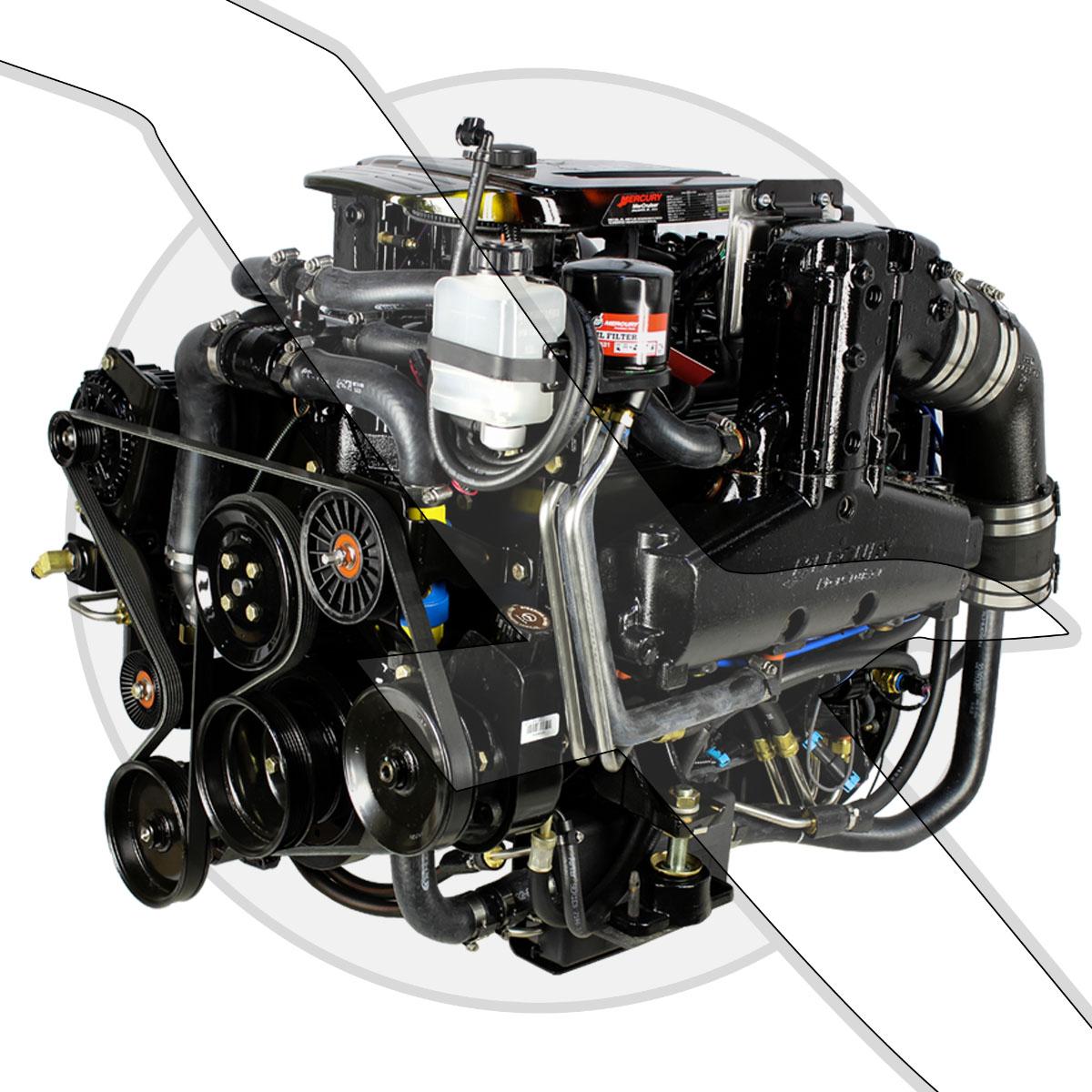Mercruiser 383ci 6 3l Mpi Stroker Bravo Engine Only Marine