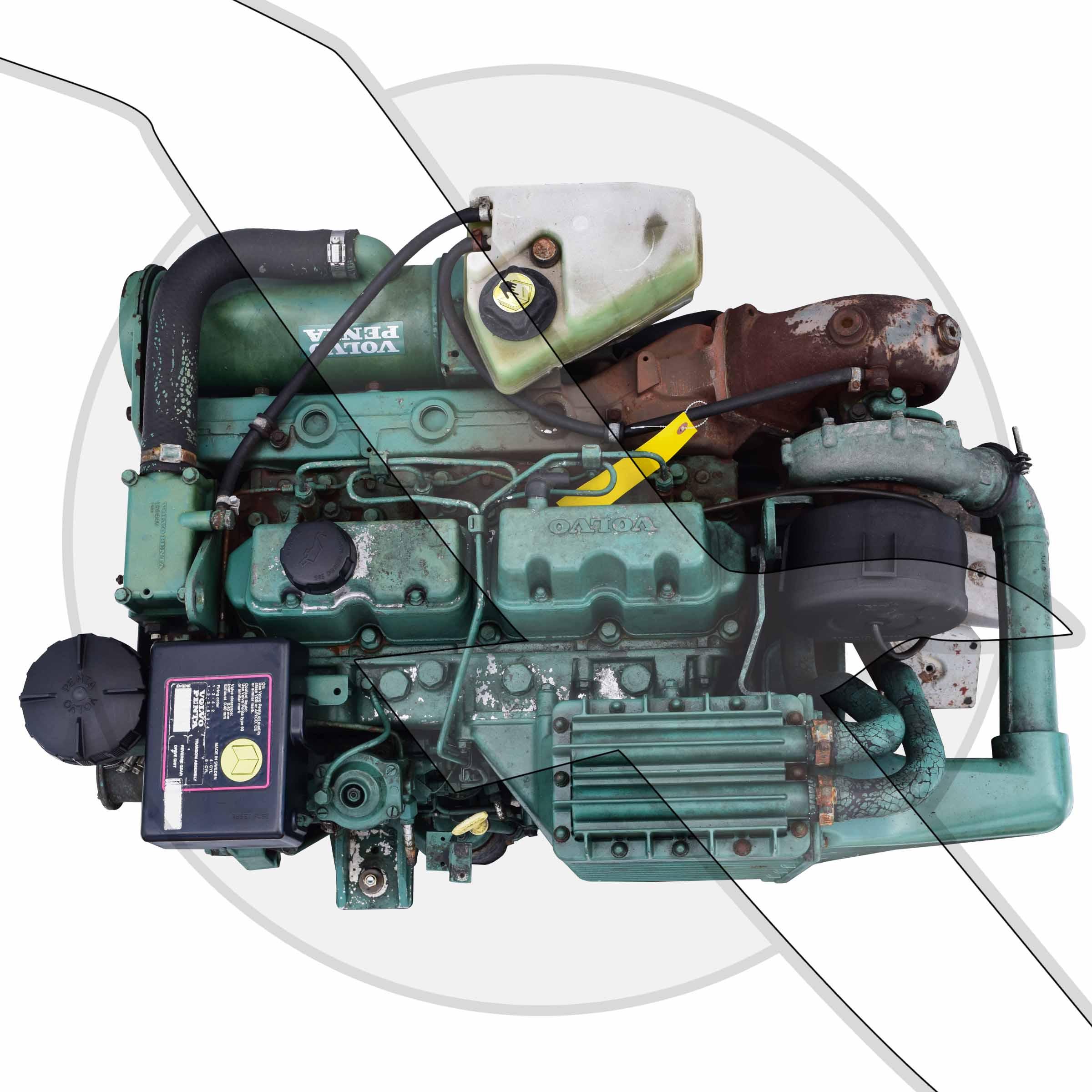 volvo penta cvs engines diesel ips