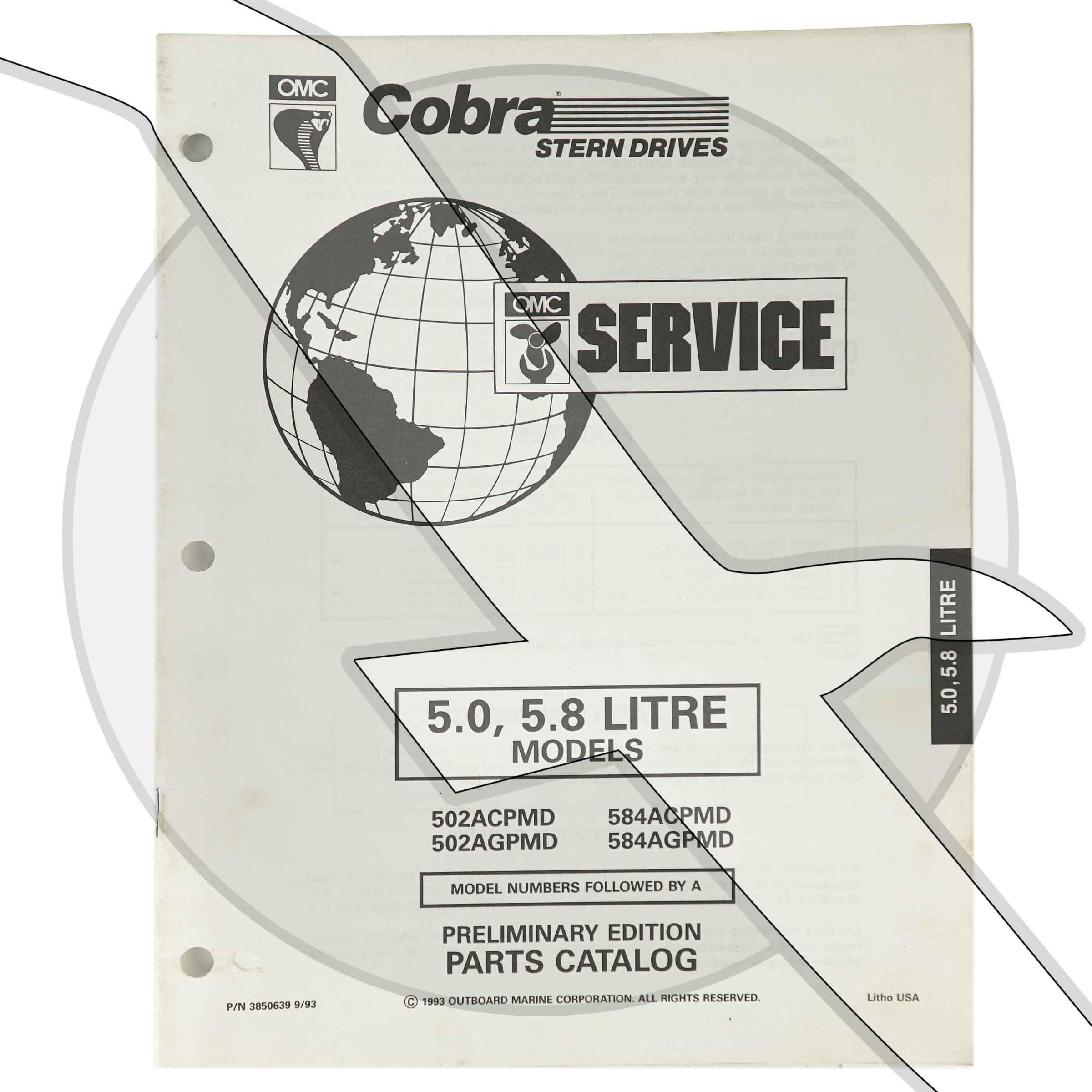1994 Omc Cobra Ford 302 351 5 0l 5 8l Engine  U0026 Sterndrive