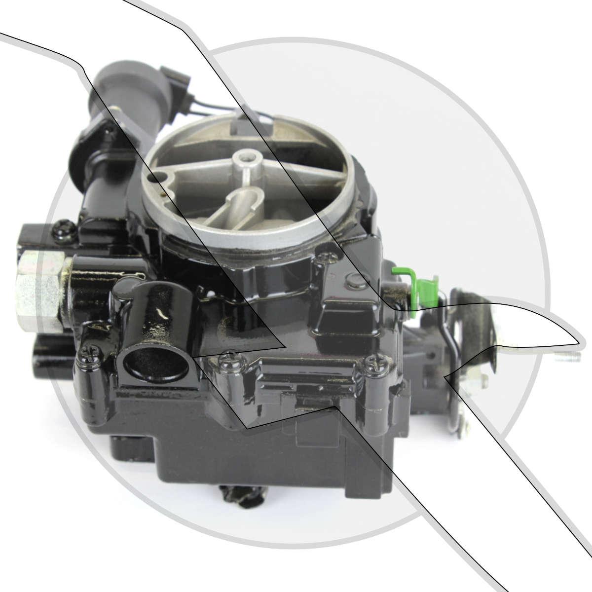 4.3L Mercruiser TKS Carburetor 3310-866141A02 3310-8M0084194 2bbl Marine Carb