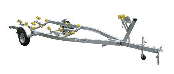 Venture Single Axle Roller 1550 - 3350 Load Capacity