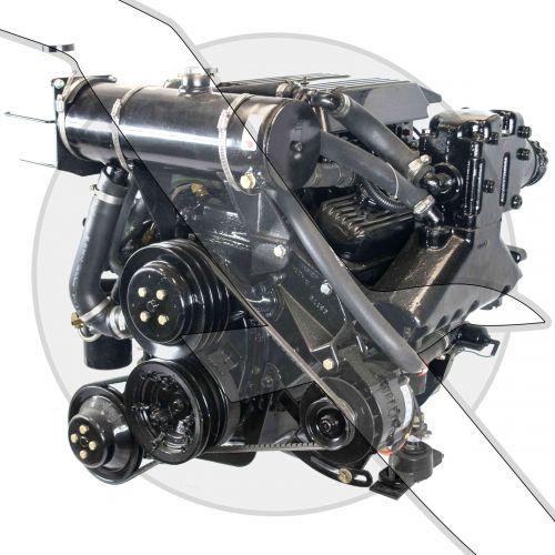 Mercruiser 4.3L 262ci 4BBL V6 Inboard Engine