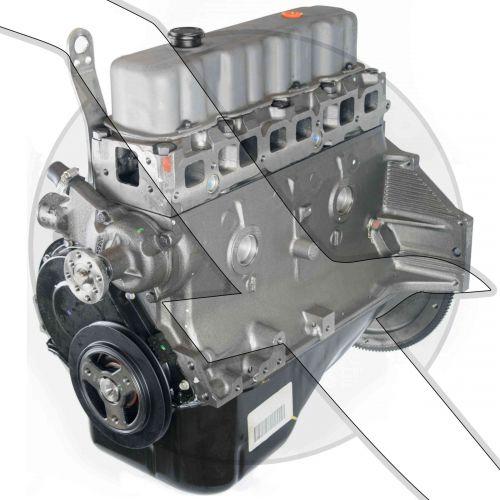 GM 3.0L 181ci Long Block Engine