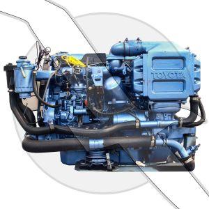 Toyota 3.0L 182ci  M1KZ-TH Turbo Diesel Engine