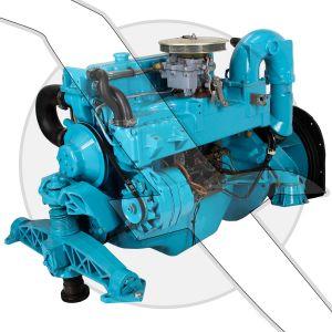 OMC Stringer 2.5L Complete Motor & Intermediate Assembly