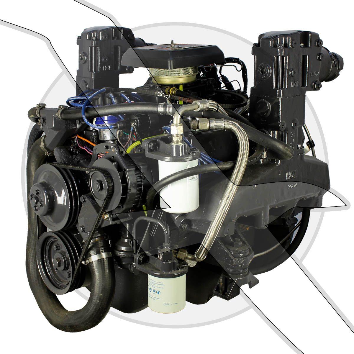 Omc King Cobra 75l 460ci Engine