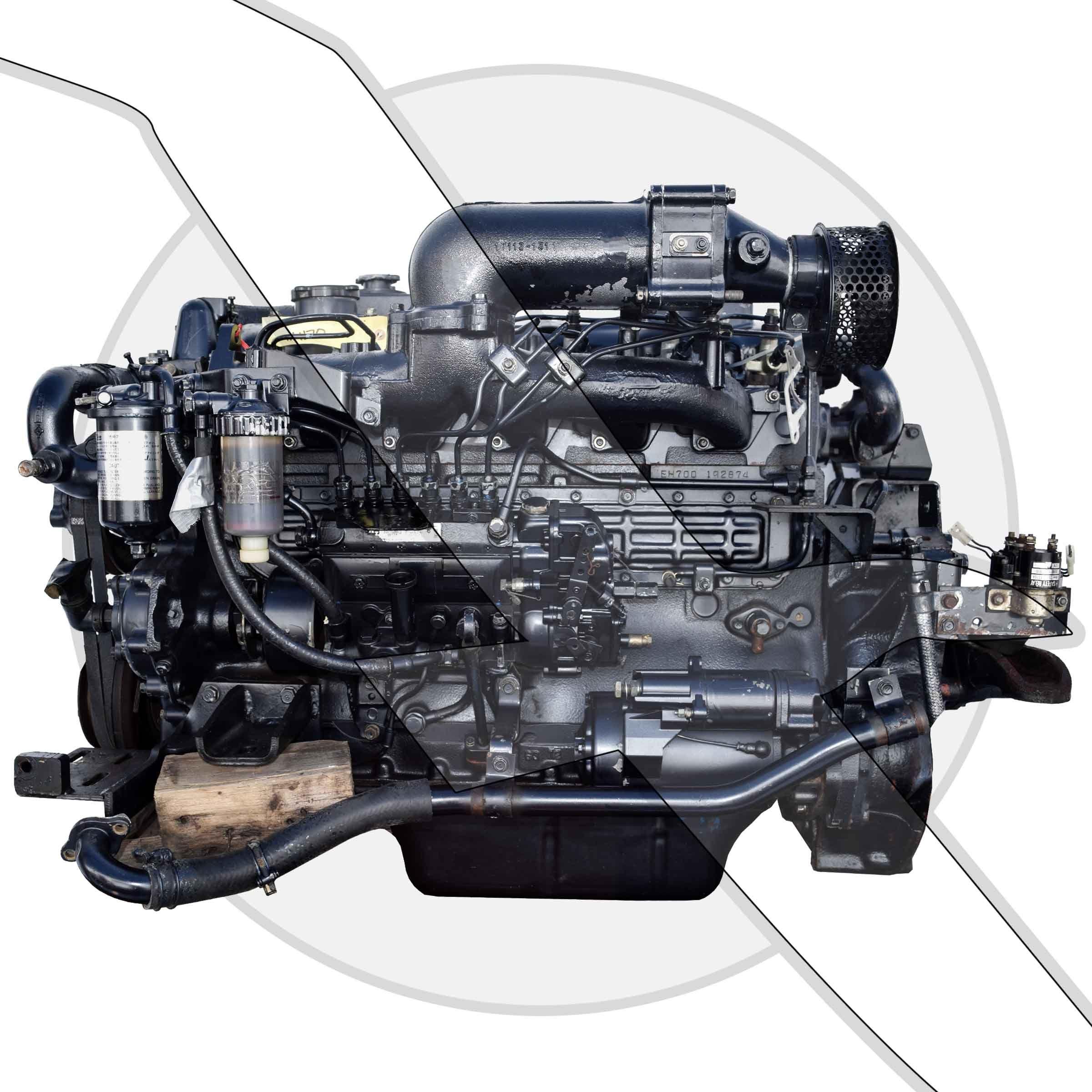 Mercruiser 6 4l 393ci Eh700 6 Cyl Hino Diesel Engine
