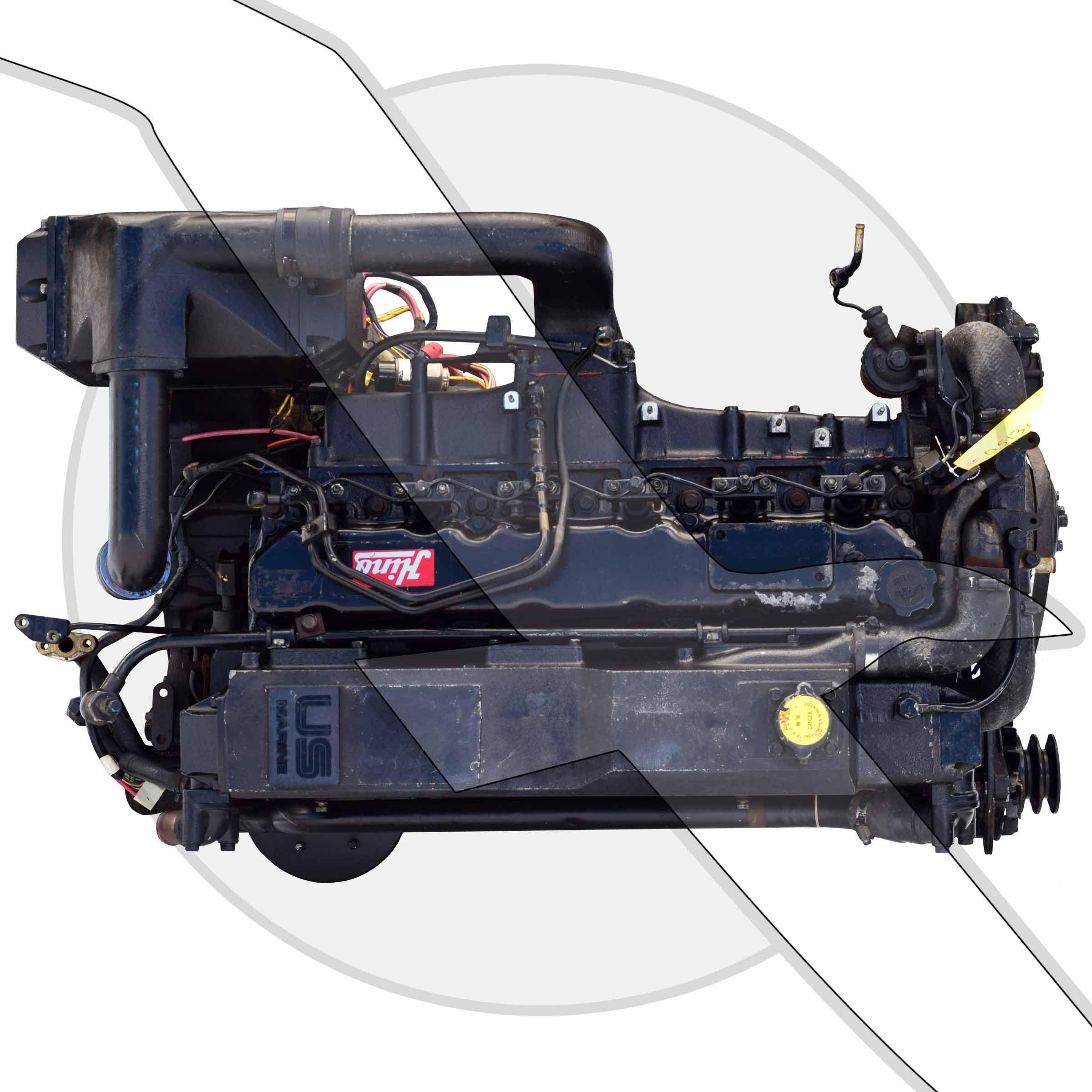 Mercruiser 5 8l 351ci 6 Cyl Hino Diesel Mie Engine