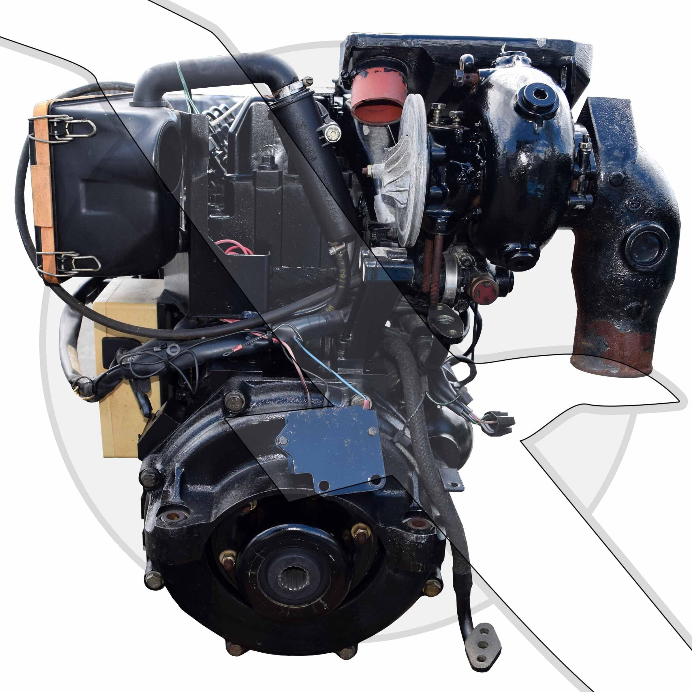 Mercruiser 3 0l 183ci 530d Diesel Engine