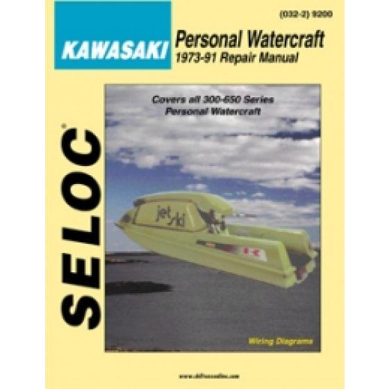KAWASAKI PWC REPAIR MANUALS