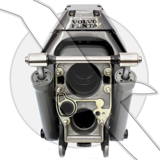 Volvo Penta SX-MHP Transom Assembly