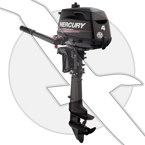 Mercury Marine 4hp Four Stroke Outboard Engine