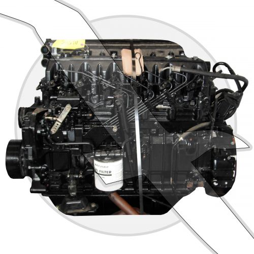 Mercruiser VM 4.2L 254ci Diesel Engine
