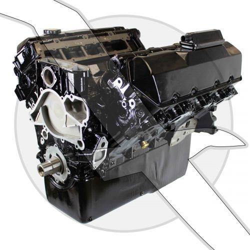 Mercruiser 7.3L Diesel D-Tronic Long Block Engine