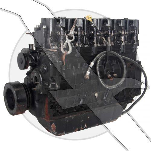 Mercruiser 4.2L 254ci VM  Diesel Long Block Engine