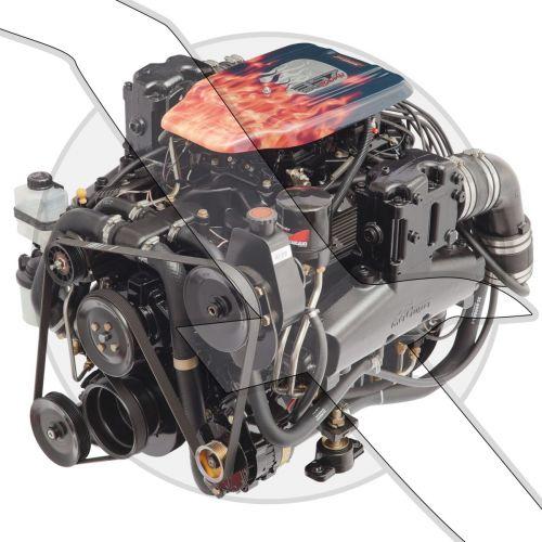 Mercruiser 357 MAG Bravo Complete Engine