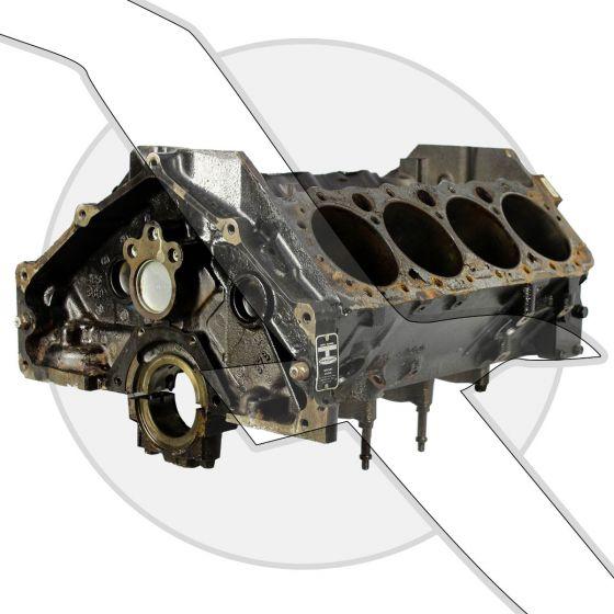 GM 5.7L 350ci Vortec Bare Block Engine