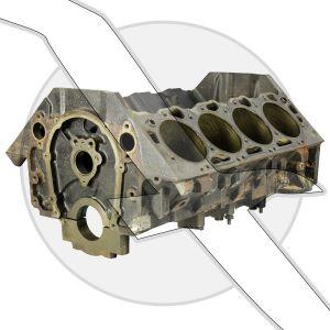 GM 8.1L 496ci  Bare Block Engine