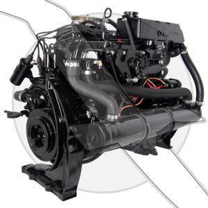 Mercruiser 3.7L 224ci  2 BBL 4 Cyl Engine