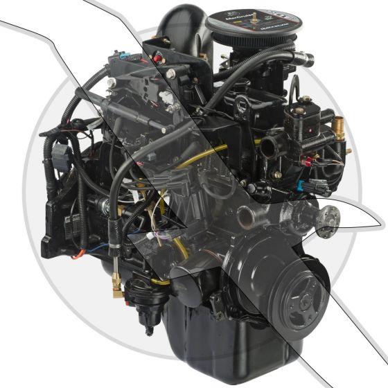 Mercruiser 3.0L TKS Crate Engine 8M0123362